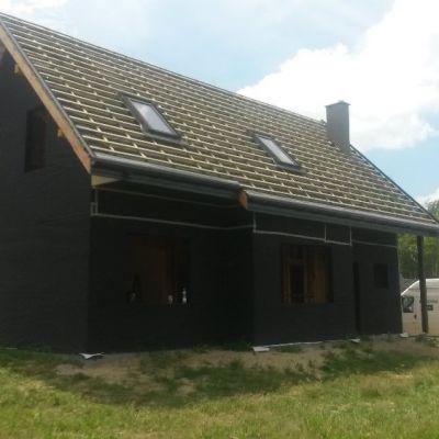 Dom szkieletowy pod Rzeszowem