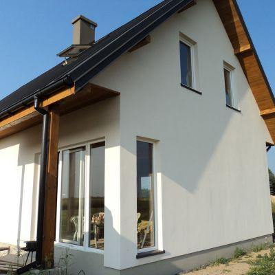 Dom 110 m2 szkieletowy Łęczna