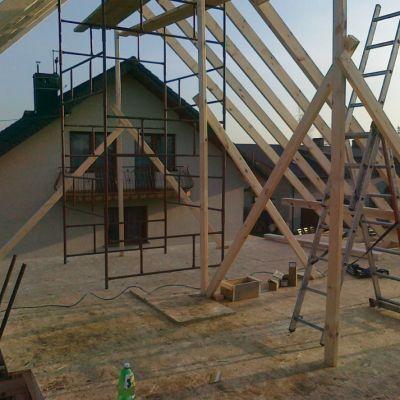 Konstrukcja szkieletowa domu Zawiercie