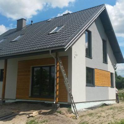 Dom szkieletowy w Piaskach