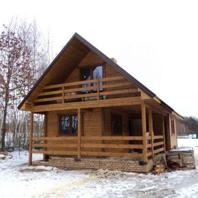 Dom szakieletowy Poniatowa